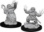 PATHFINDER DEEP CUTS UNPAINTED MINIS: Female Dwarf Summoner (2)