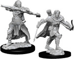 PATHFINDER DEEP CUTS UNPAINTED MINIS: Male Half-Elf Ranger (2)