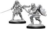 PATHFINDER DEEP CUTS UNPAINTED MINIS: Female Half-Elf Ranger (2)