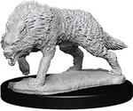 PATHFINDER DEEP CUTS UNPAINTED MINIS: Timber Wolves (1)