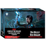 DUNGEONS & DRAGONS - ICONS: Guildmasters` Guide to Ravnica Niv-Mizzet Red Dragon Premium Figure (Set 10) (1)