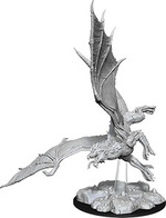 D&D NOLZURS MARVELOUS UNPAINTED MINIS: Young Green Dragon (1)