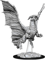 D&D NOLZURS MARVELOUS UNPAINTED MINIS: Young Copper Dragon (1)
