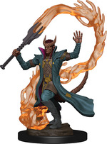 D&D ICONS OF THE REALM PREMIUM FIGURES: Tiefling Male Sorcerer (1)