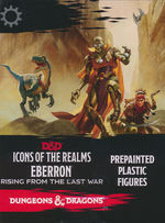 DUNGEONS & DRAGONS - ICONS: Eberron: Rising from the Last War Booster (4)