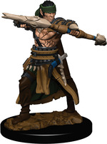 PATHFINDER PREMIUM PAINTED: Half-Elf Male Ranger (2)