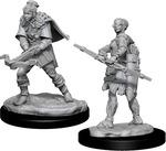 D&D NOLZURS MARVELOUS UNPAINTED MINIS: Human Ranger, Female (Wave 12) (2)