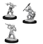 D&D NOLZURS MARVELOUS UNPAINTED MINIS: Goblins & Goblin Boss (3)