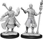 D&D NOLZURS MARVELOUS UNPAINTED MINIS: Half-Elf Wizard Male (Wave 14) (2)