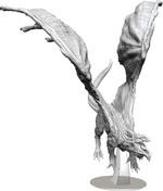 D&D NOLZURS MARVELOUS UNPAINTED MINIS: Adult White Dragon (1)