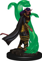 D&D ICONS OF THE REALM PREMIUM FIGURES: Tiefling Sorcerer, Female (1)