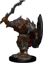 D&D ICONS OF THE REALM PREMIUM FIGURES: Dragonborn Male Fighter (1)