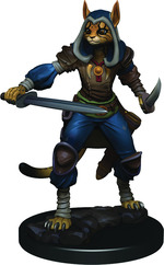 D&D ICONS OF THE REALM PREMIUM FIGURES: Tabaxi Rogue, Female (1)