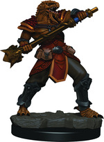 D&D ICONS OF THE REALM PREMIUM FIGURES: Dragonborn Male Fighter (Wave 3) (1)