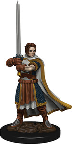 D&D ICONS OF THE REALM PREMIUM FIGURES: Human Male Cleric (1)