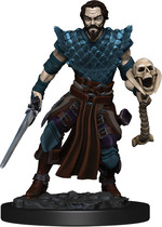 D&D ICONS OF THE REALM PREMIUM FIGURES: Human Warlock Male (1)