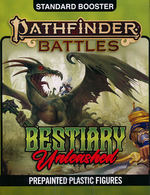 PATHFINDER BATTLES: Bestiary Unleashed Booster (4)