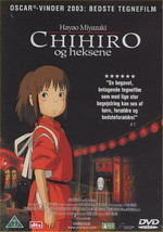 Studio Ghibli Film DK Chihiro og Heksene (Dansk udgave)