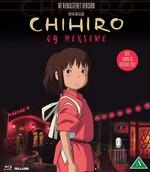 Studio Ghibli Film DK BLU RAY Chihiro og Heksene