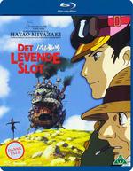 Studio Ghibli Film DK BLU RAY Det Levende Slot