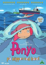 Studio Ghibli Film DK Ponyo på klippen ved havet