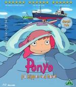 Studio Ghibli Film DK BLU RAY Ponyo på klippen ved havet