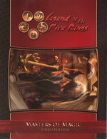 LEGEND OF THE FIVE RINGS 3RD EDITION - Masters of Magic - TILBUD (så længe lager haves, der tages forbehold for udsolgte varer)