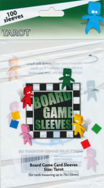 SLEEVES - BOARD GAME - Tarot (100) (fit cards of 70x120mm)