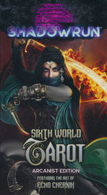 SHADOWRUN 6TH EDITION - Sixth World Tarot Arcanist Ed