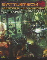 BATTLETECH NY UDGAVE - Masters & Minion - The StarCorp Dossiers