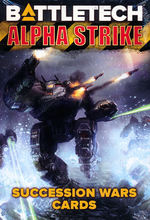 BATTLETECH NY UDGAVE - Alpha Strike Game Aids - Succession Wars Cards