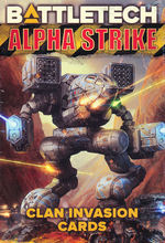 BATTLETECH NY UDGAVE - Alpha Strike Game Aids - Clan Invasion Cards