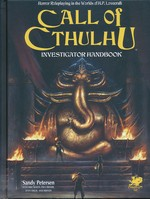 CALL OF CTHULHU - 7TH EDITION - Investigator Handbook (inc. PDF)