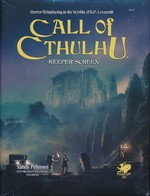 CALL OF CTHULHU - 7TH EDITION - Keeper Screen Pack (inc. PDF)