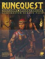 RUNEQUEST 7TH EDITION - Gamemaster Screen Pack (inc. PDF)