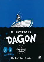 CALL OF CTHULHU BOOKS - H.P. Lovecraft`s: Dagon - For Beginning Readers