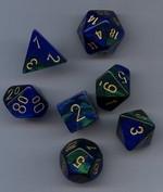 TERNINGER - GEMINI - Blue-Green/Gold (7)