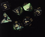 TERNINGER - GEMINI - Black-Green/Gold (7)