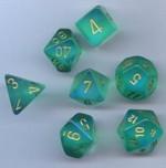 TERNINGER - BOREALIS - Light Green/gold (7)