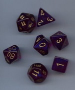 TERNINGER - BOREALIS - Royal Purple/gold (7)