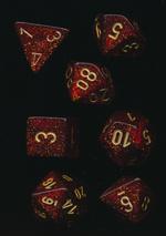 TERNINGER - GLITTER - Ruby Red/Gold (7)