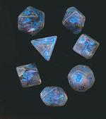 TERNINGER - BOREALIS - Icicle/light blue - Luminary 7-Die Set