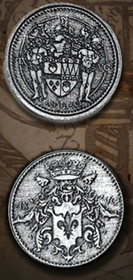LEGENDARY COINS - Capitol  Silver Coin (1stk)