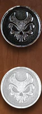 LEGENDARY COINS - ELEMENTS - Death Element Coin (1stk)