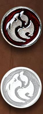 LEGENDARY COINS - ELEMENTS - Fire Element Coin (1stk)