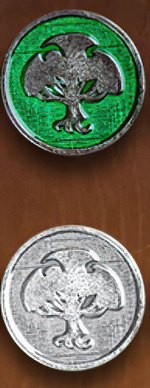 LEGENDARY COINS - ELEMENTS - Nature Element Coin (1stk)