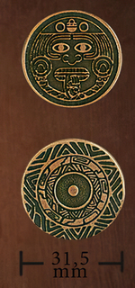 LEGENDARY COINS - Amerindian Coin Copper (1stk)