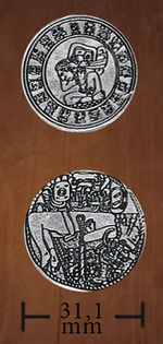 LEGENDARY COINS - Amerindian Coin Silver (1stk)