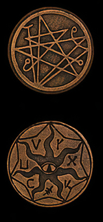 LEGENDARY COINS - Cthulhu Coin Copper (1stk)