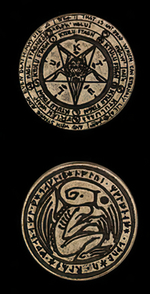 LEGENDARY COINS - Cthulhu Coin Silver (1stk)
